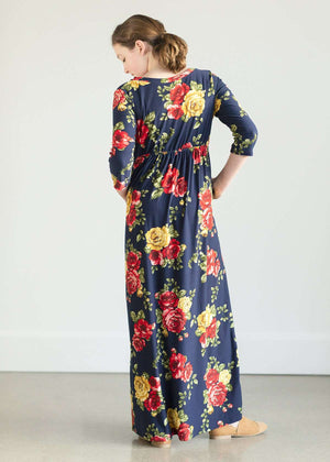 Lovely Floral Maxi Dress - FINAL SALE