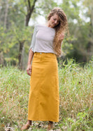 Stella Colored Denim Skirt