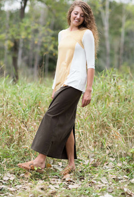 Inherit Co.  | Modest Women's Best Sellers | Country Check Top - FINAL SALE |