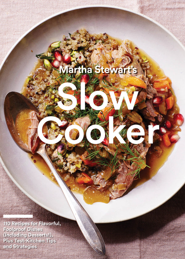 Inherit Co.  | Home + Lifestyle | Martha Stewart's Slow Cooker Cookbook - FINAL SALE