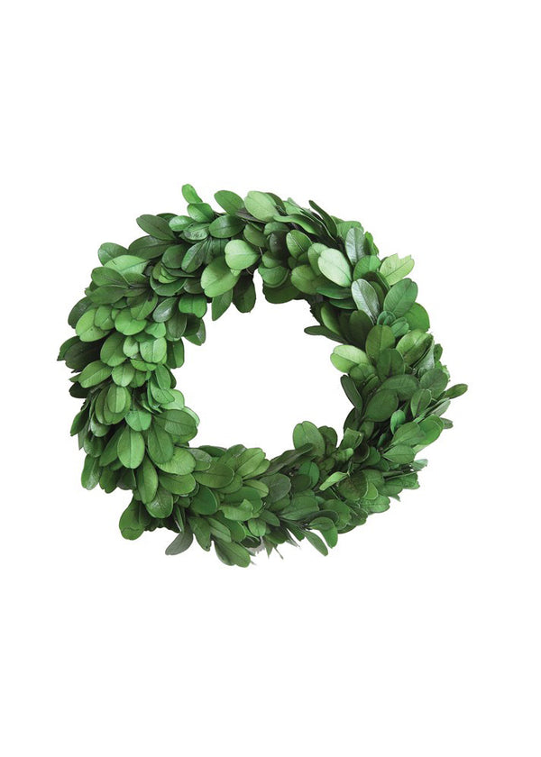 Inherit Co.  | Women's New Arrivals | Round Boxwood Wreath