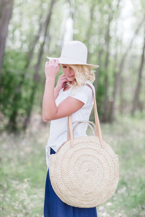 Summer and Sun Straw Bag