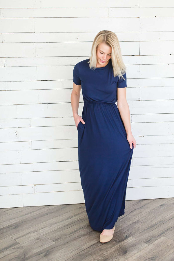 Cambrie Modest Maxi Dress