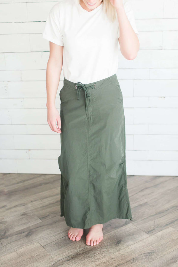 Camp and Cargo Modest Maxi Skirt