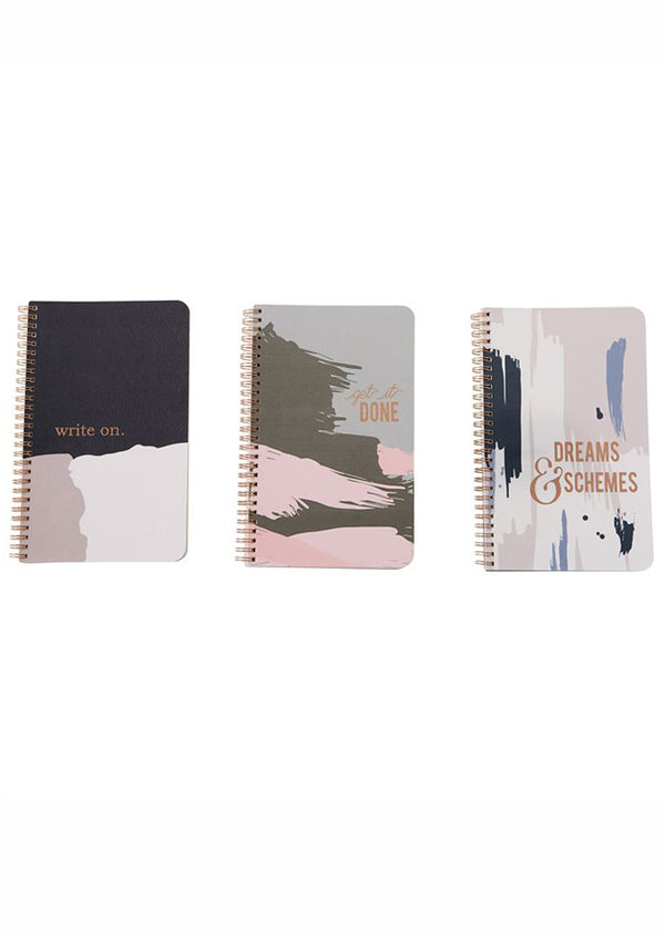 Inherit Co.  | Home + Lifestyle | Spiral Bound Designer Notebook