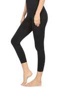 High Waist Seamless Nylon Capri Leggings - FINAL SALE