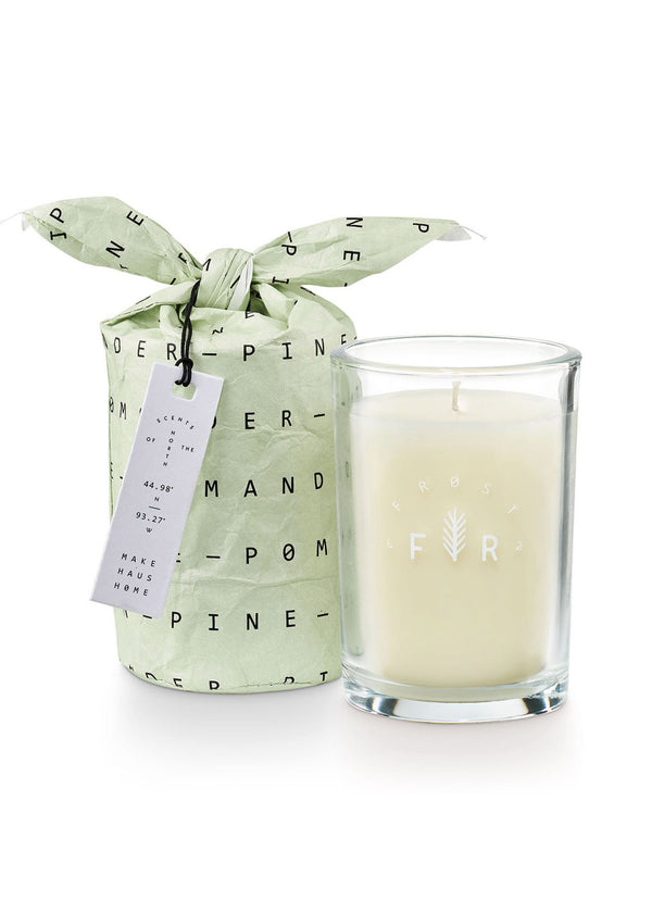 Inherit Co.  | Home + Lifestyle | Frost & Fir Bagged Glass Soy Candle