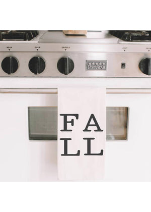 Fall Printed Tea Towel - FINAL SALE