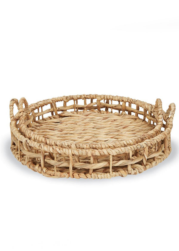 Inherit Co.  | Home + Lifestyle | Round Braided Basket Set