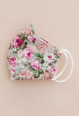 Inherit Co.  | Women's Accessories | Blush Floral Bow, Bandana + Scrunchie |