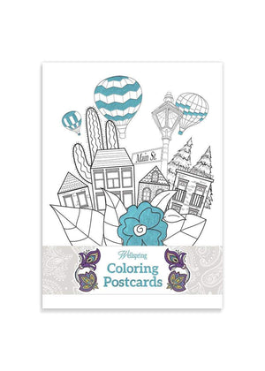 Coloring Postcard Booklet