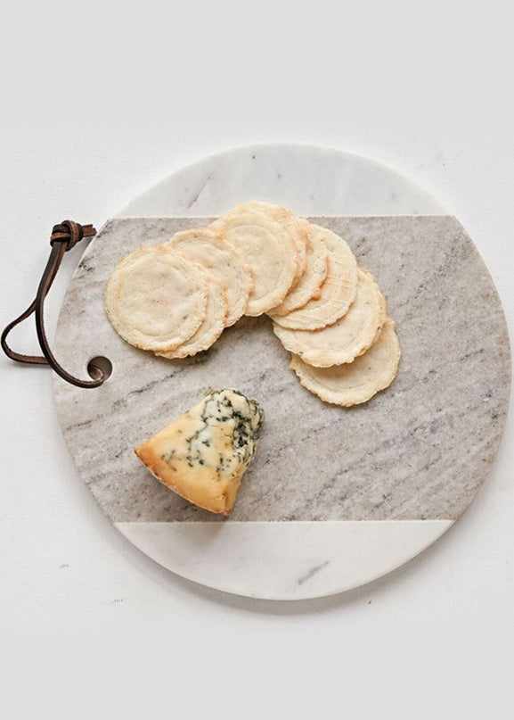 Inherit Co.  | Home + Lifestyle | Round Marble Cheese Board | marble cheese board