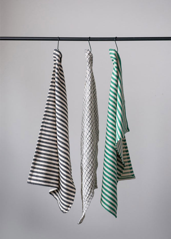 Inherit Co.  | Home + Lifestyle | Striped Cotton Tea Towel Set