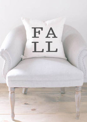 Fall Printed Throw Pillow - FINAL SALE