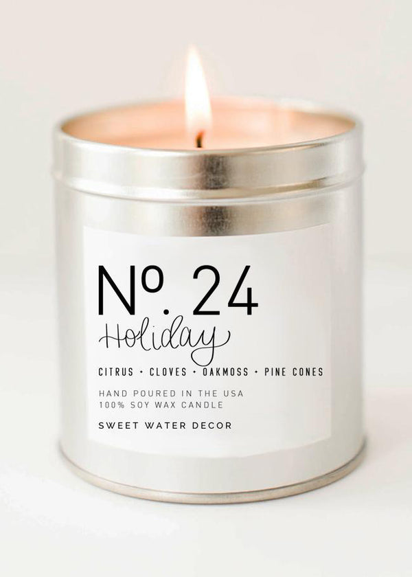 Inherit Co.  | Home + Lifestyle | Holiday Soy Candle - FINAL SALE