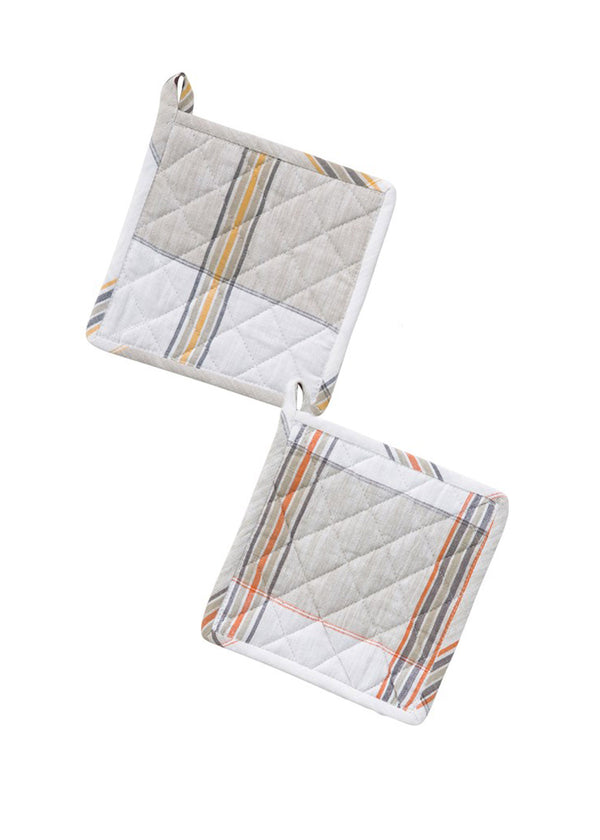 Inherit Co.  | Home + Lifestyle | Cotton Plaid Square Hot Pads