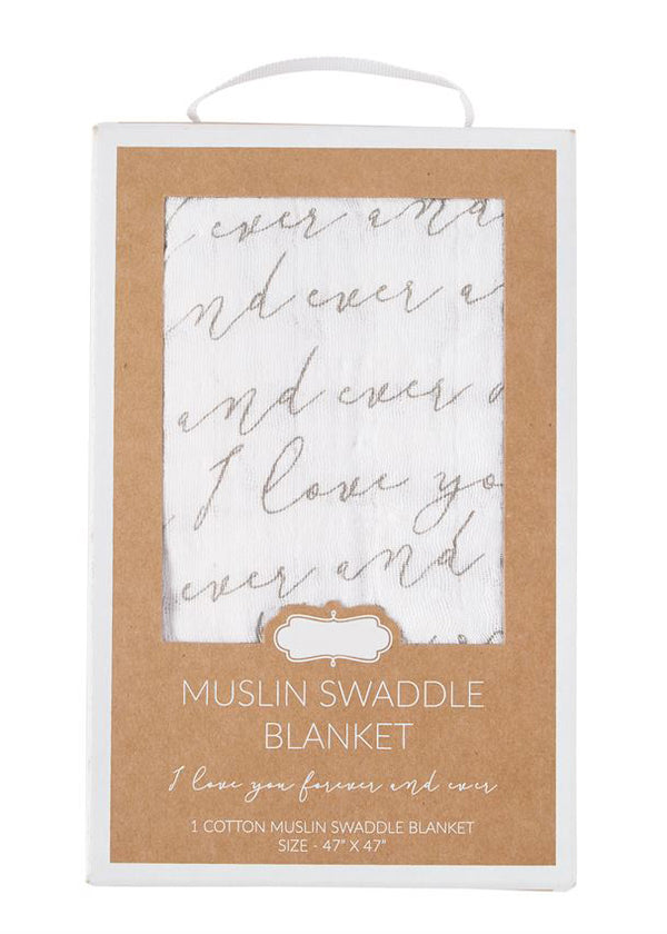 Inherit Co.  | Home + Lifestyle | I Love You Forever Swaddle
