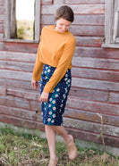 Inherit Co.  | Modest Women's Skirts | Brooke Midi Skirt