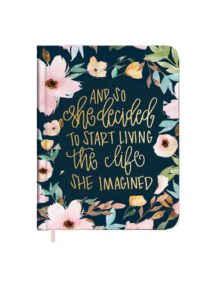 The Life She Imagined inspirational journal