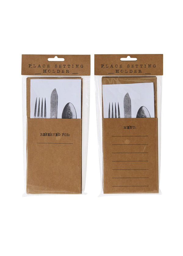 Inherit Co.  | Home + Lifestyle | Kraft Paper Utensil Holder