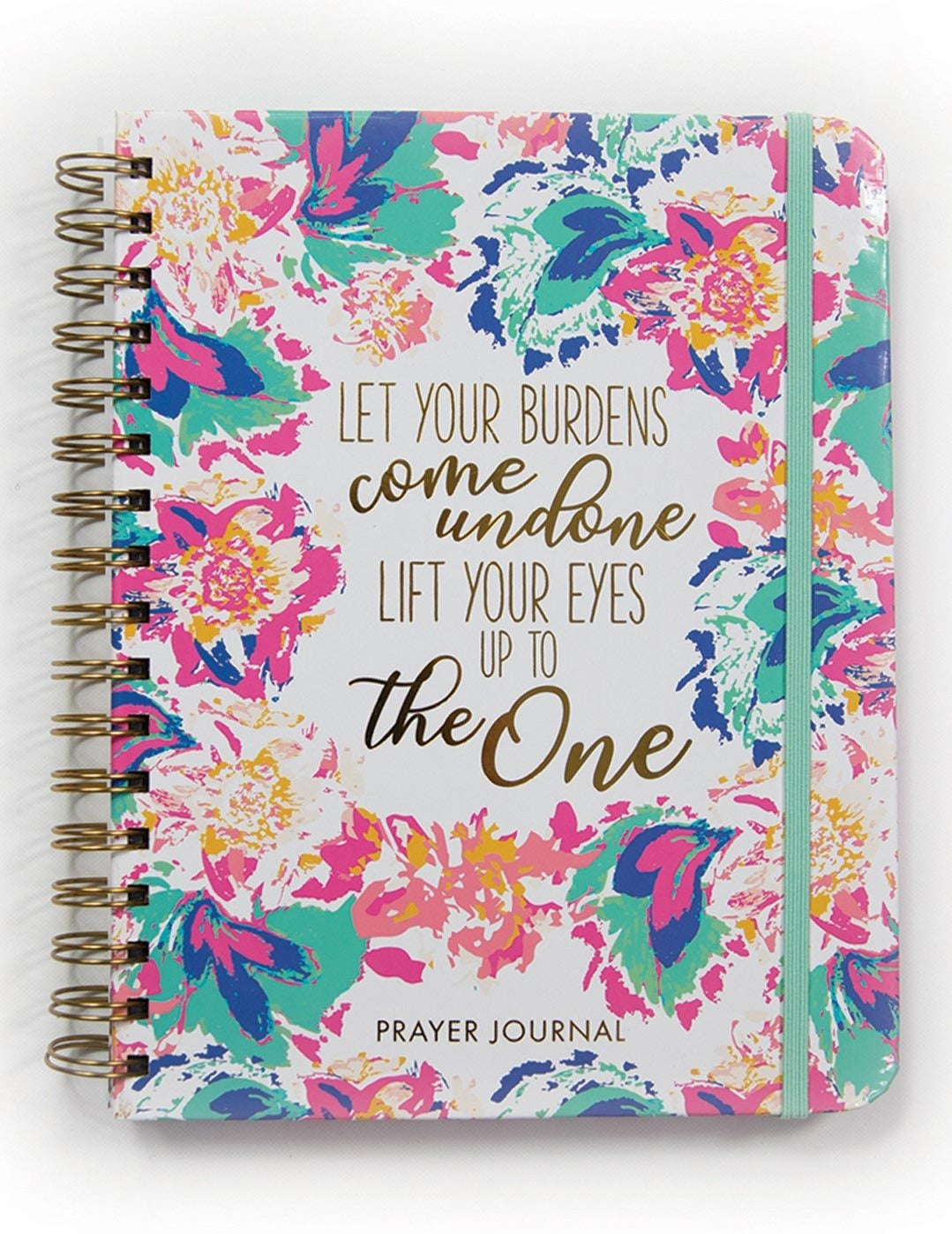 Let Your Burdens Come Undone Prayer Journal