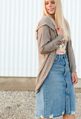 Inherit Co.  | $29.99 SALE! | Gwen Long Corduroy Skirt - FINAL SALE |