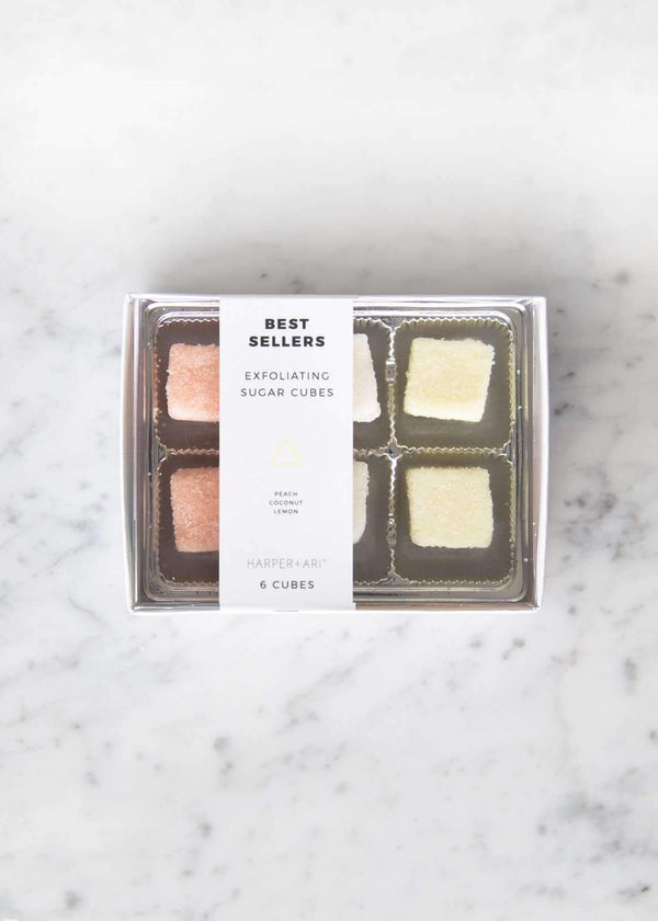 Inherit Co.  | Home + Lifestyle | Exfoliating Sugar Cube Gift Box - FINAL SALE