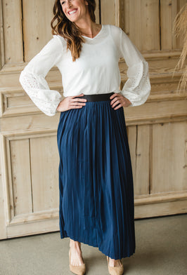 Inherit Co.  | $29.99 SALE! | Wendy Midi Skirt - FINAL SALE |