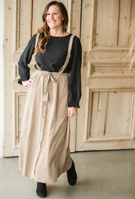 Inherit Co.  | Modest Women's Clothing | Willow Long Denim Skirt |