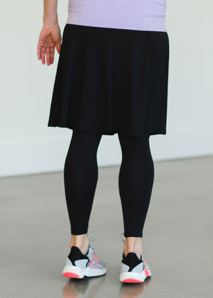 Snoga Black Ballet Athletic Skirt