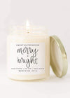 Merry + Bright Soy Candle - FINAL SALE