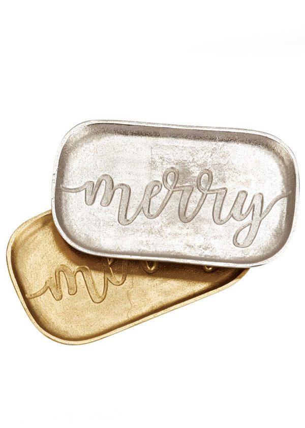 Inherit Co.  | Home + Lifestyle | Decorative Tin Merry Tray