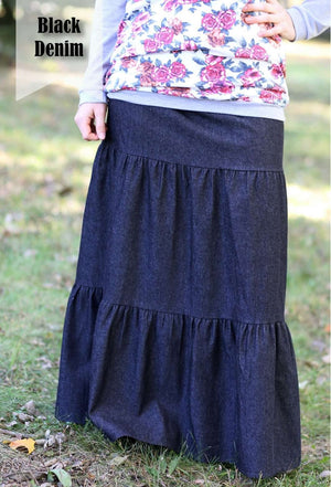 Modest Girl Skirt Made to Order Custom | Pick Skirt Fabric, Size, Length, Color