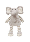 Gray Stripe Plush Elephant