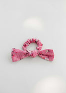 Sweet Floral Bow Hair Scrunchie - FINAL SALE