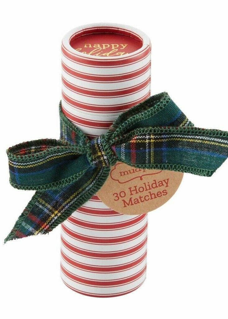 Holiday Tartan Gift Matches - FINAL SALE