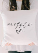 Snuggle Up Printed Throw Pillow - FINAL SALE