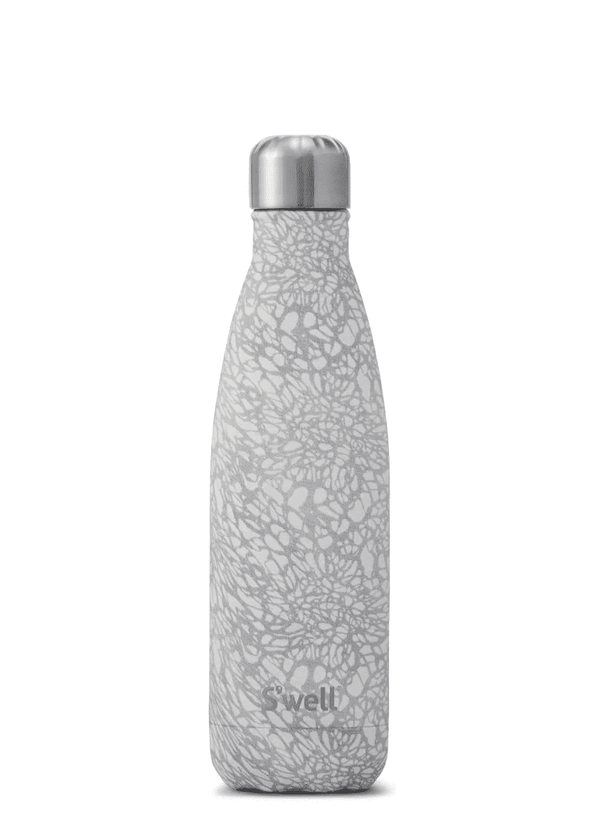 Inherit Co.  | Home + Lifestyle | S'well White Lace Water Bottle | Swell white lace water bottle