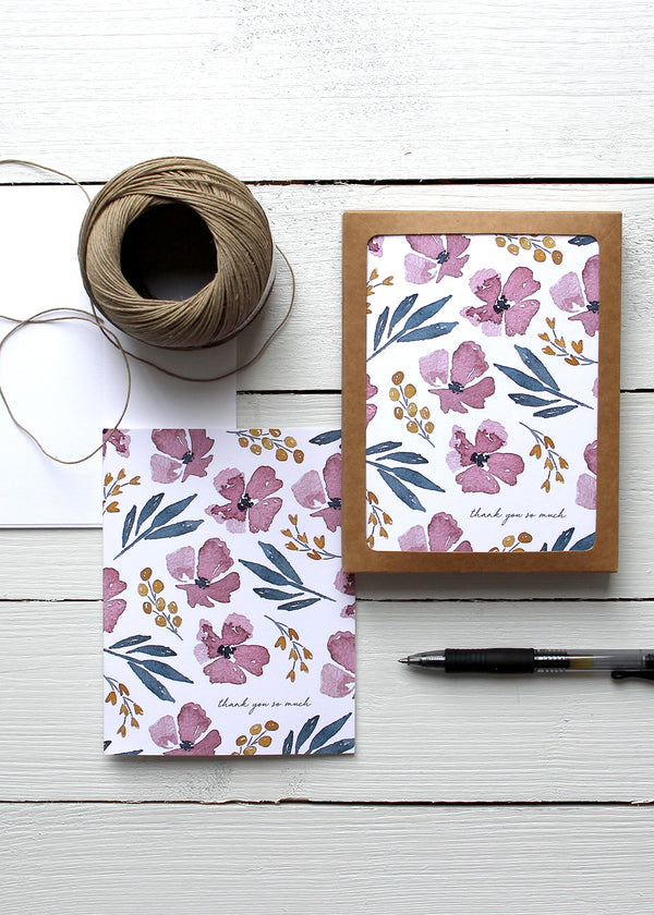Inherit Co.  | Women's New Arrivals | Thank You Floral Card Set
