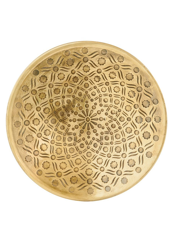 Inherit Co.  | Home + Lifestyle | Round Metal Serving Platter