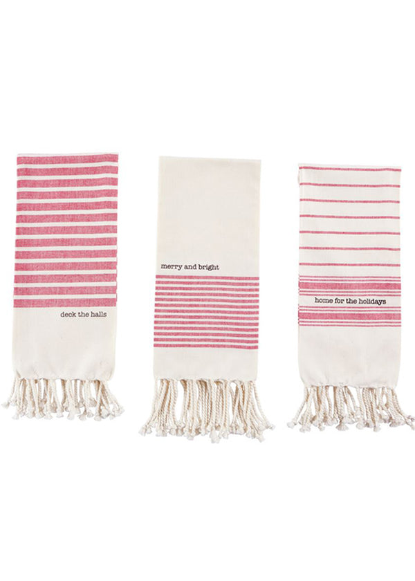 Inherit Co.  | Home + Lifestyle | Holiday Turkish Tea Towels
