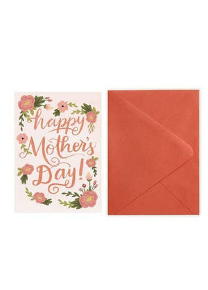 Floral Mother's Day Greeting Card