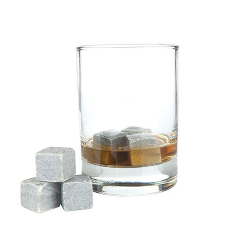 Glacier Rocks - Set of 6 Soapstone Cubes by Viski