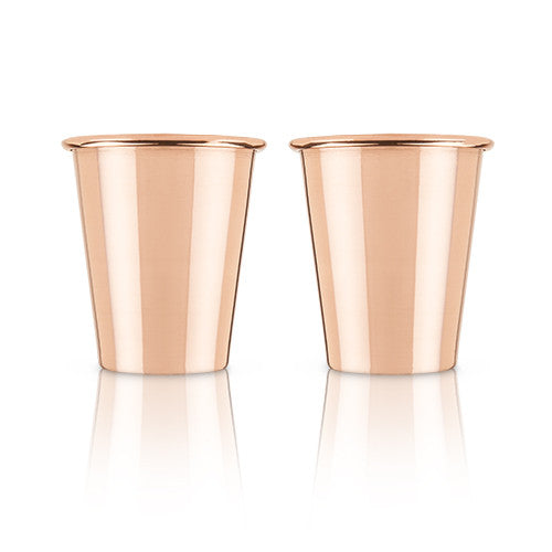 Mercer Solid Copper Shot Glasses by Vicki - Set of 2