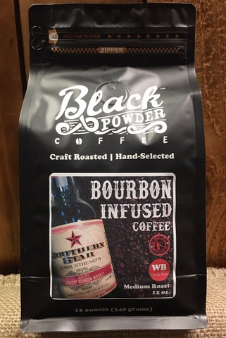 Black Powder Coffee Southern Star Cask Strength Bourbon Infused Coffee
