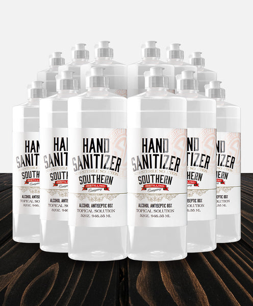 Case of 12 - 32 oz. Hand Sanitizer Bottles with Free Pumps