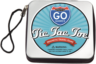 Magnet ~ Tic Tac Toe Magnetic Travel Game
