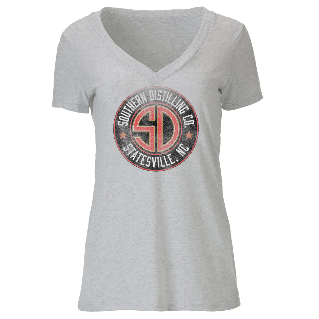SDC T-Shirt Ladies Deep V-Neck