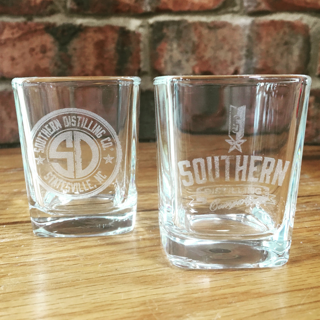 SDC Logo Square Shot Glass