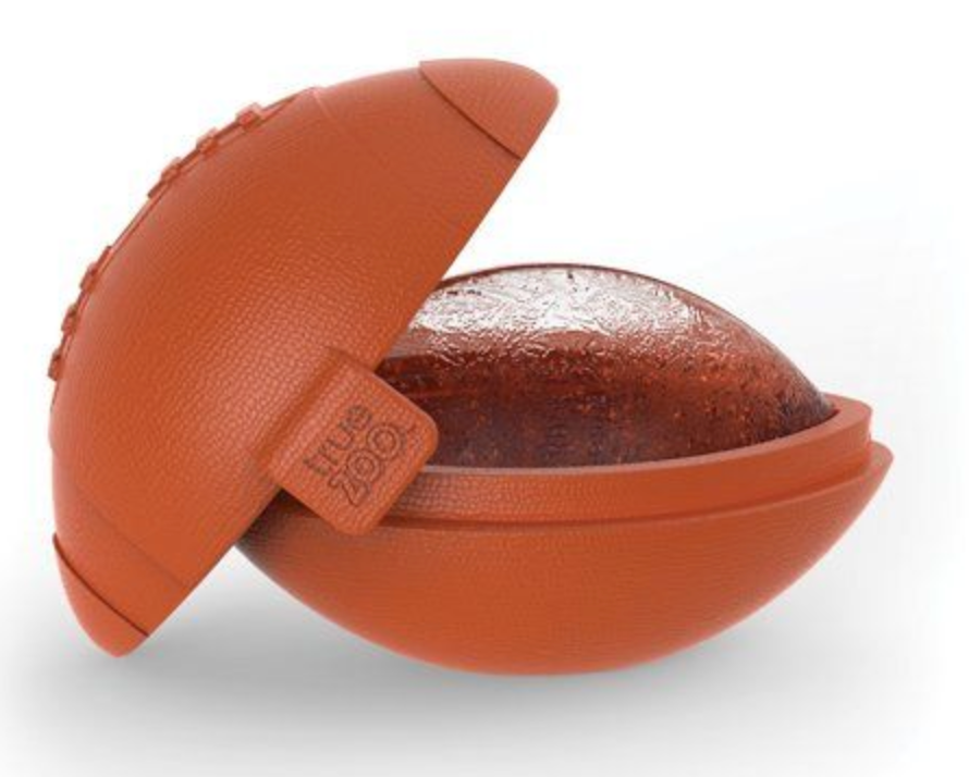 Kick off Football Ice Mold